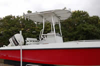 White Red Boat Canopy